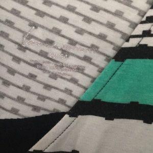 Lane Bryant Tops - Abstract Stripe Patterned Lane Bryant Tunic